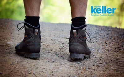 Wanderschuhe richtig einlaufen – 4 Tipps zum richtigen Einlaufen!