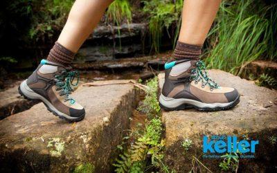 Wanderschuhe wachsen – so pflegst du deinen Schuh richtig