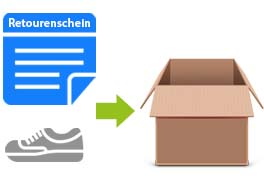 Kostenlose Retoure in Deutschland bei Schuh-Keller