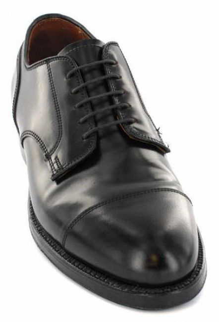 Alden 2161 Captoe Blucher black