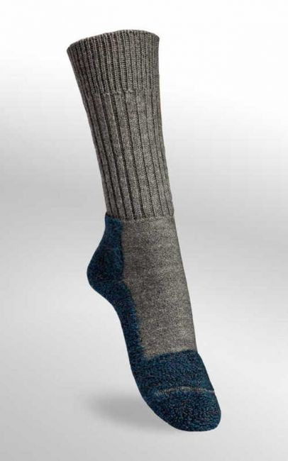 Keller Dick 54 anthrazit Wollsocken
