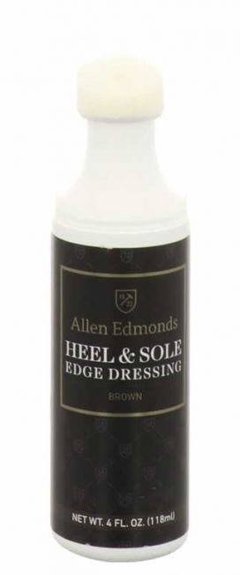 Allen Edmonds Heel & Sole Edge Dressing brow