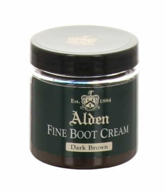 Alden Fine Boot Cream dark brown