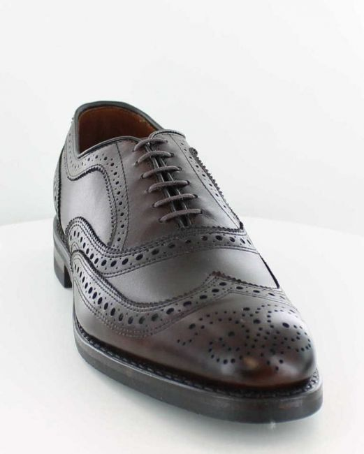 Allen Edmonds McAllister coffee - Gummisohle
