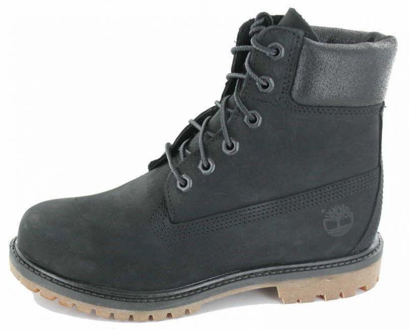 süß billig stabile Qualität unverwechselbares Design Timberland Premium Boot Woman schwarz