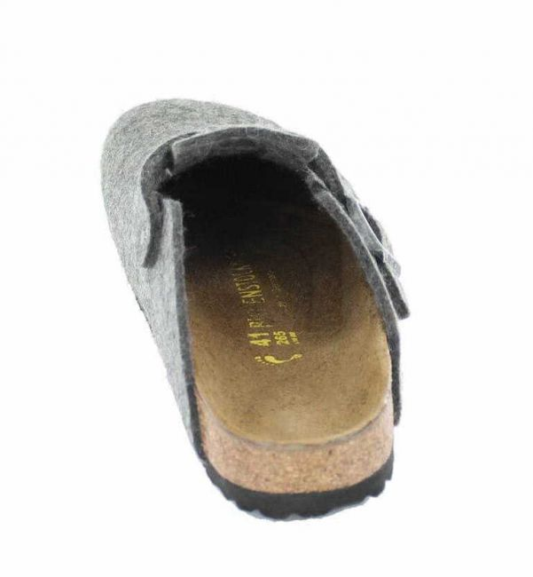 Birkenstock Boston Clog grau