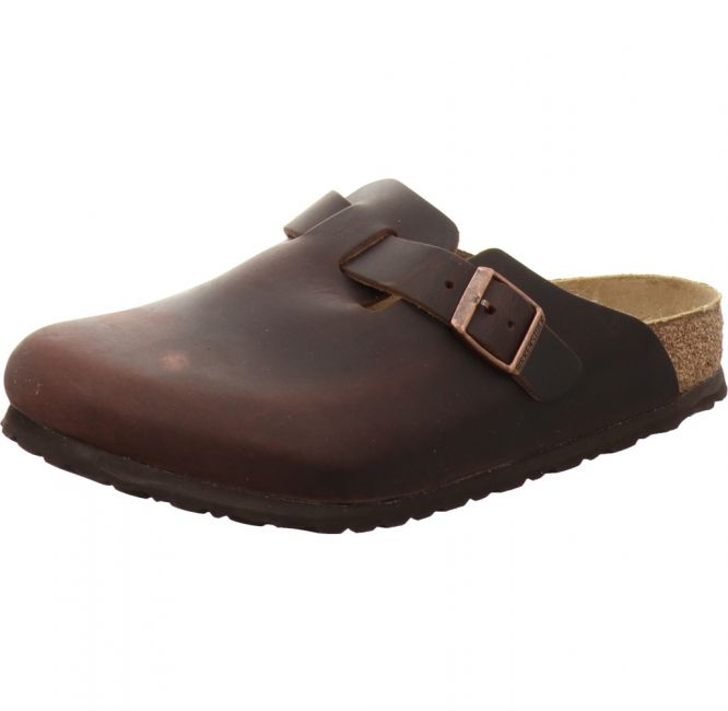 Birkenstock Boston Clog NU Oiled Habana