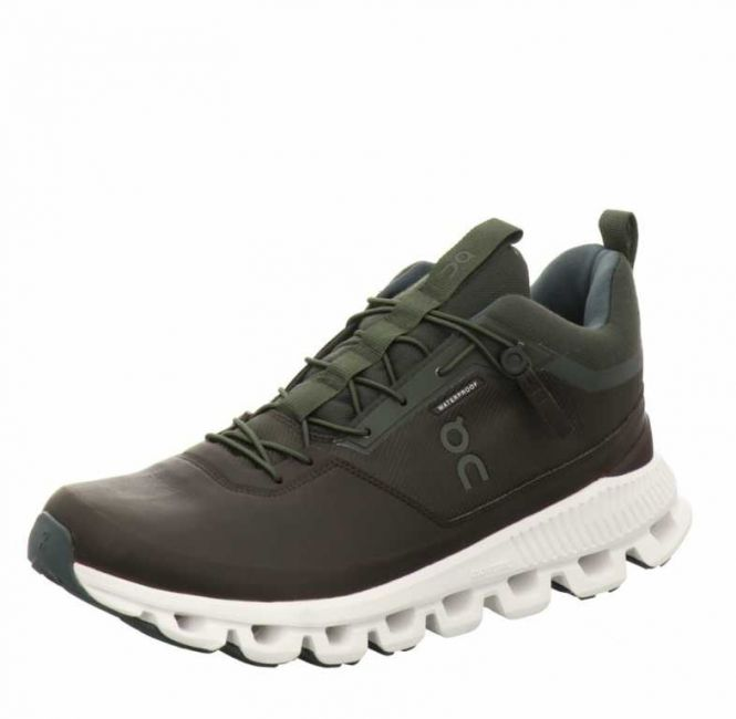 On Shoes Cloud Hi Waterproof Fir/ Umber