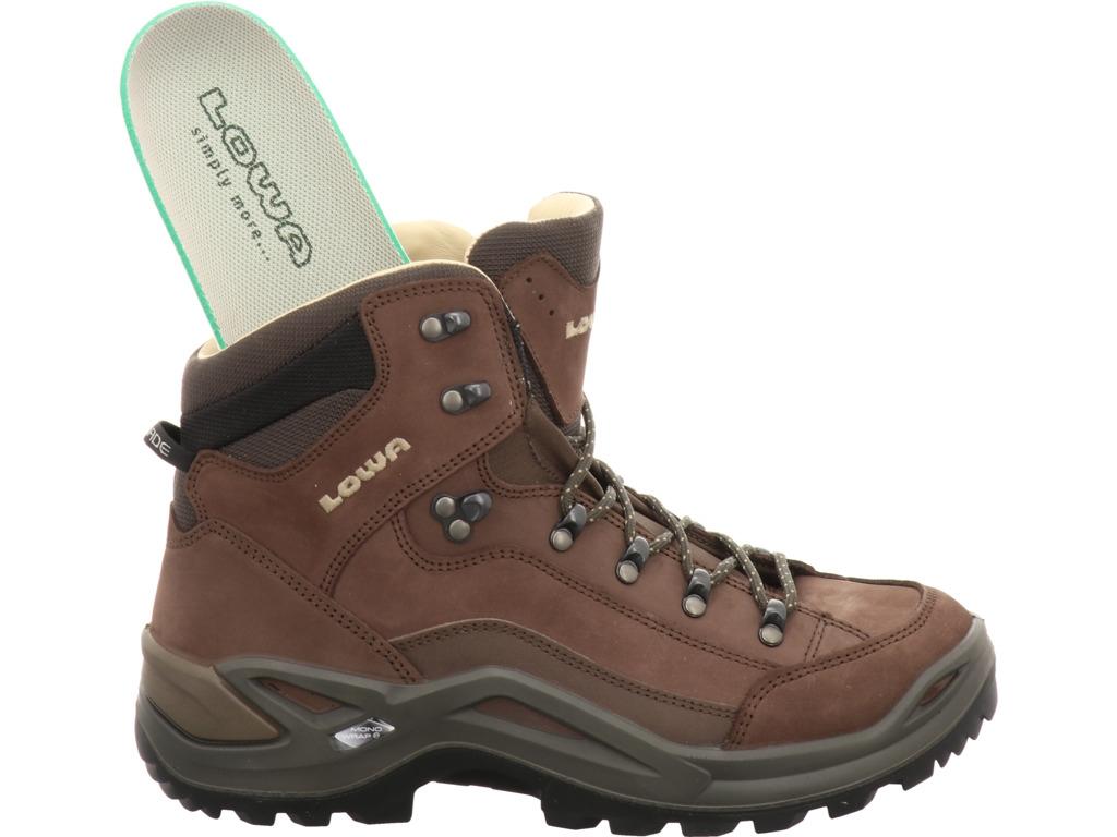 Lowa Renegade Mid Men LL espresso | Boots Herren | Shop