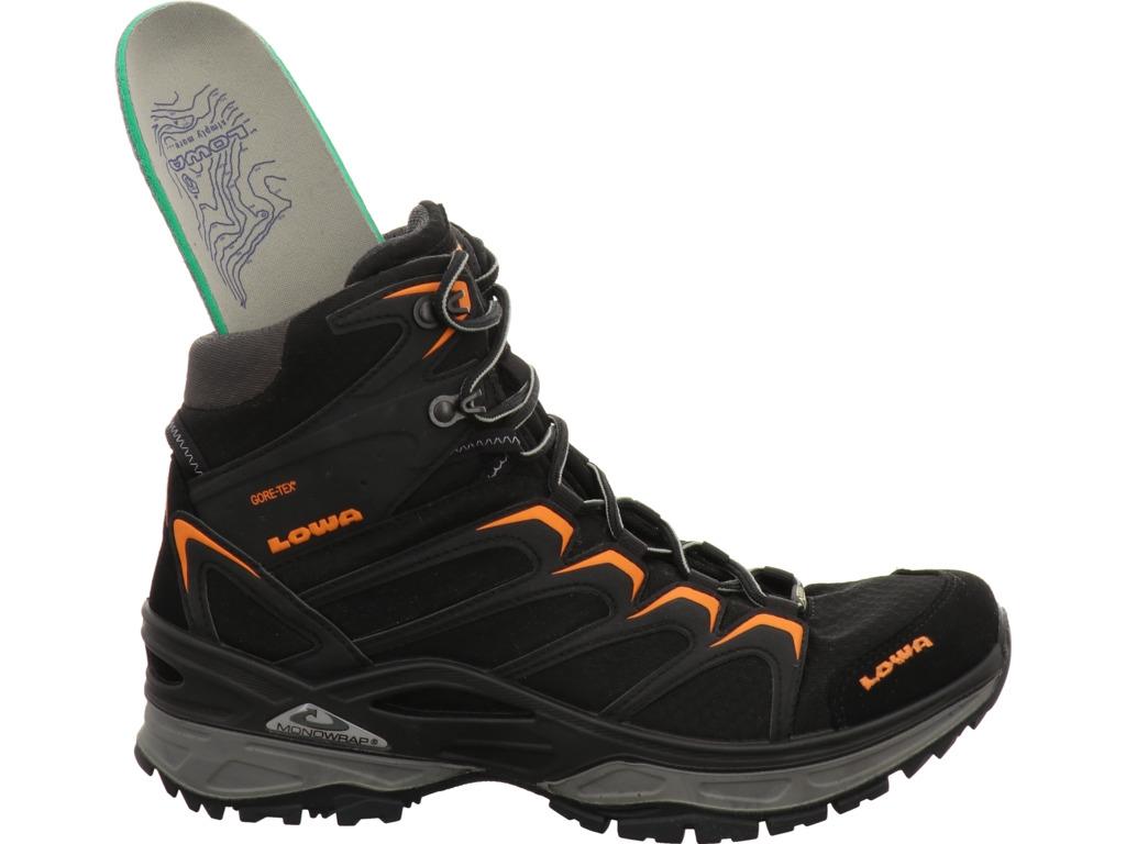Lowa Innox GTX Mid Men blackorange   Boots Herren   Shop
