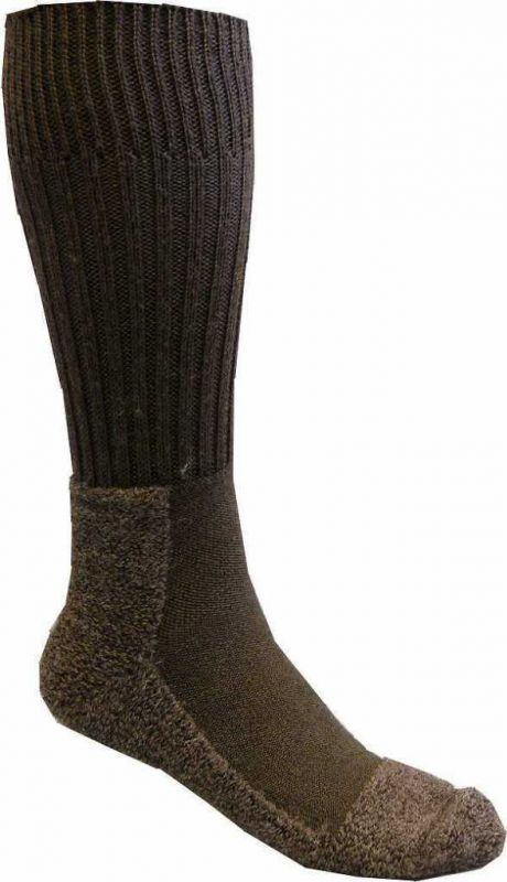 Keller Dick 54 braun Wollsocken