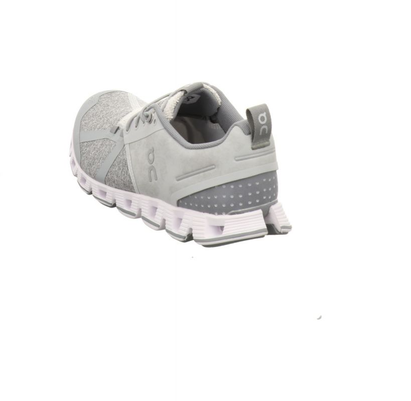On Shoes Cloud Terry woman silver