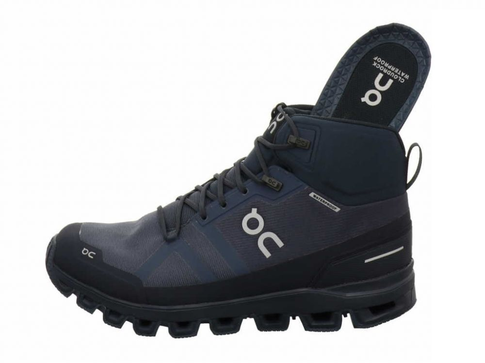 On Shoes Cloudrock Navy Waterproof