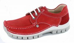 Wolky Seamy Fly red summer